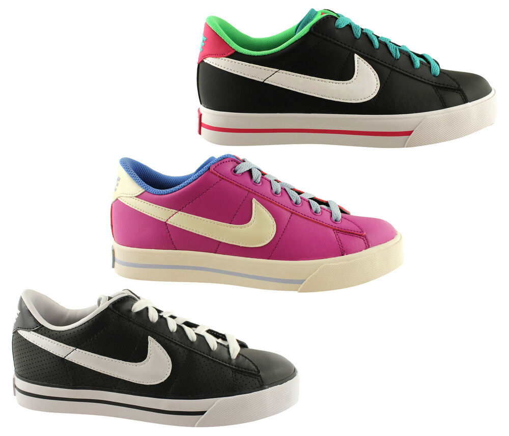 Nike Casual Shoes Leather Capri Lace Up Women