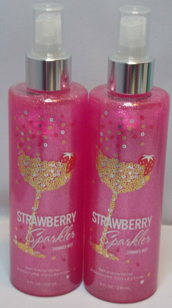 2 bath amp body works signature collection strawberry