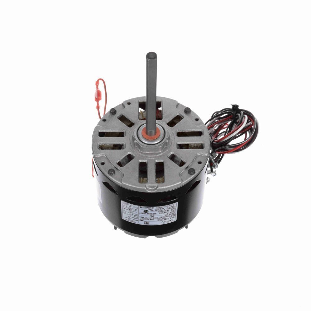 Coleman carrier electric motor 1 3 hp 1075 rpm 1 8 amps for Dc motor 1 3 hp