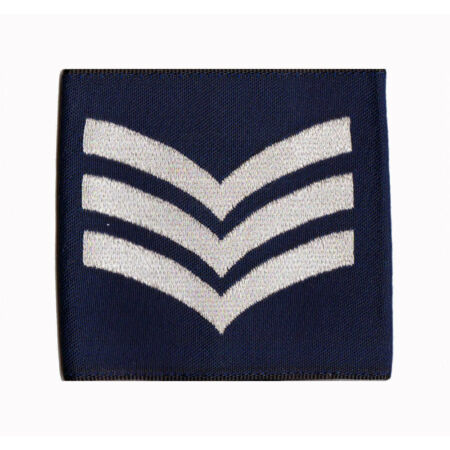 img-Pair of Official Sergeant Royal Air Force Rank Slides RAF ( NEW SGT
