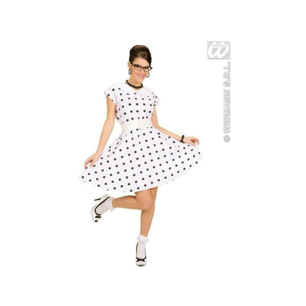 p nktchenkleid 50er jahre fasching kost m damen rock n roll kleid rockabilly ebay. Black Bedroom Furniture Sets. Home Design Ideas
