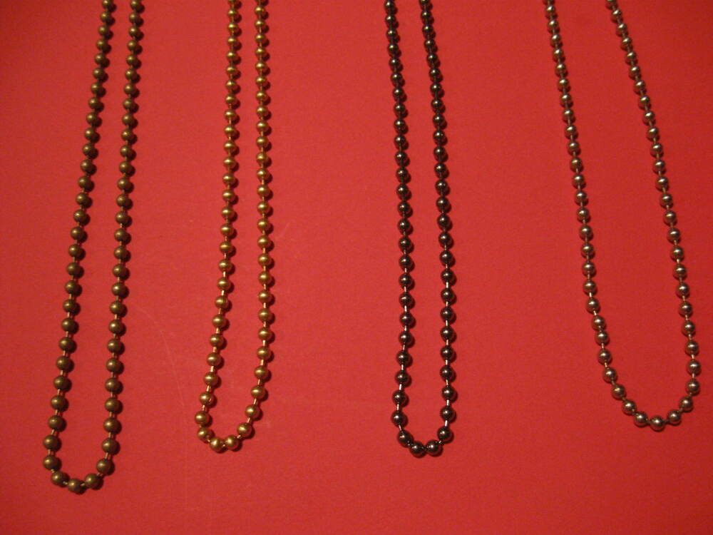 Coloured Metal Chain For Roman Roller Amp Vertical Blind