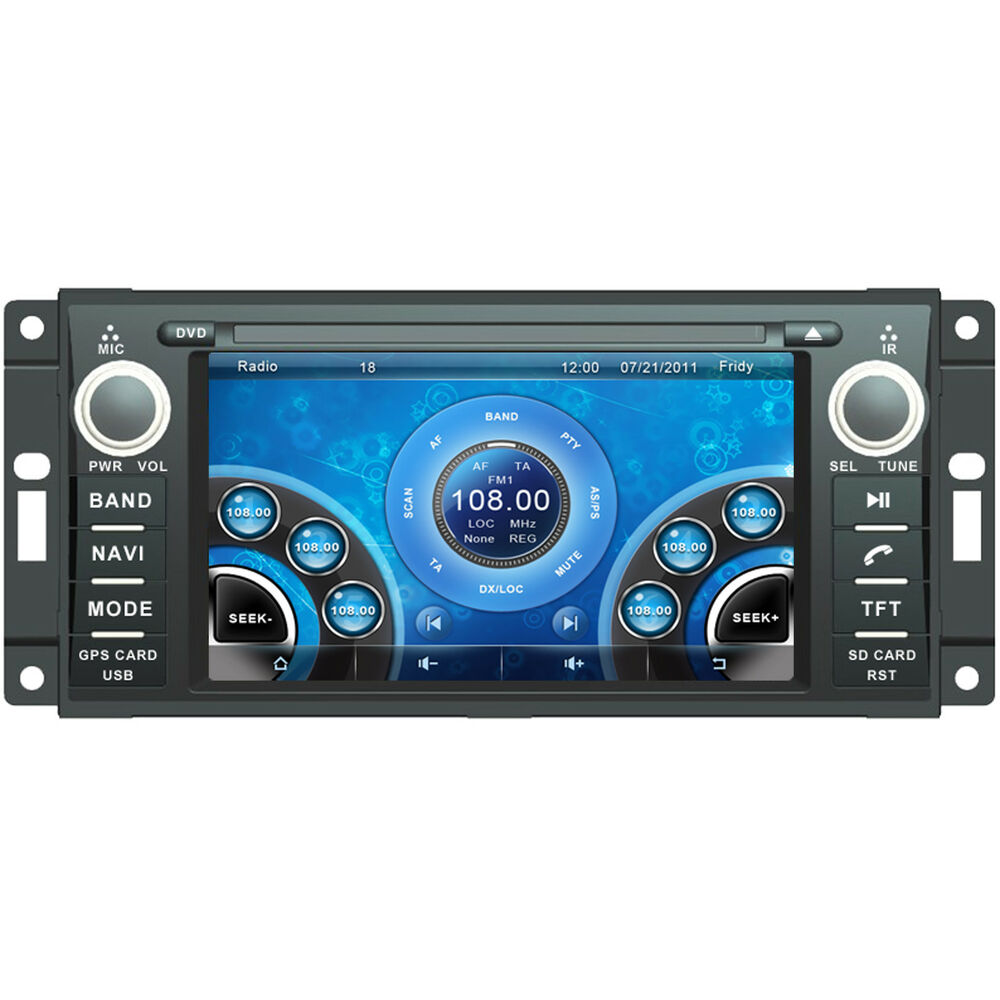 6 2 Quot Car Stereo Dvd Player For Dodge Charger 2008 2010