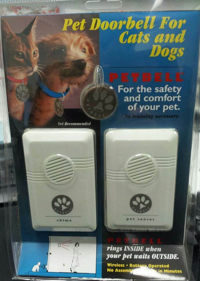 Petbell A Wireless Doorbell System For Dogs Amp Cats Ebay