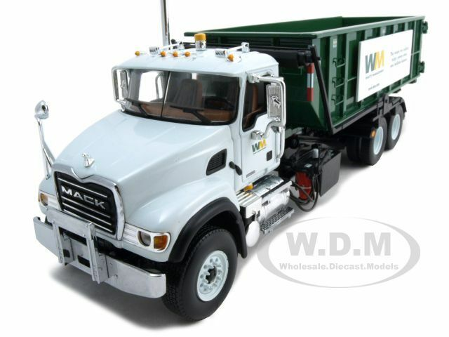 Mack granite waste management garbage truck 1 34 by first for Wrap master model 1500