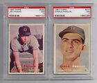 JIM FINIGAN 1957 Topps baseball PSA 7 NM #248