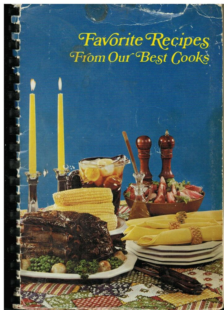 hagerstown md vintage c1970 community cook book favorite recipes from our best ebay. Black Bedroom Furniture Sets. Home Design Ideas