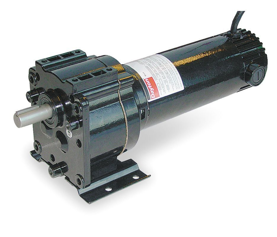 Dayton model 4z381 dc gear motor 94 rpm 1 8 hp 90vdc for 1 20 hp electric motor