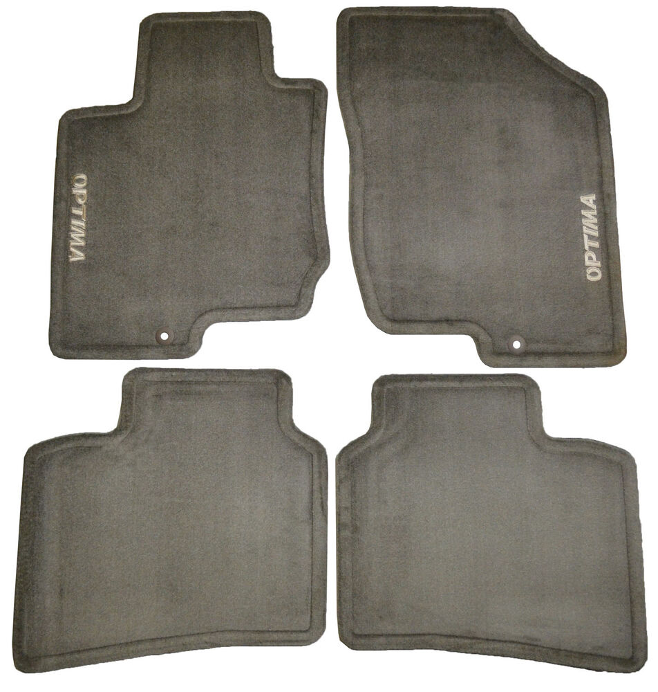 4 Replacement Carpeted Front Rear Floor Mats For Kia ...