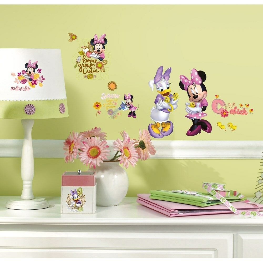 New Minnie Mouse Amp Daisy Barnyard Cuties Wall Decals