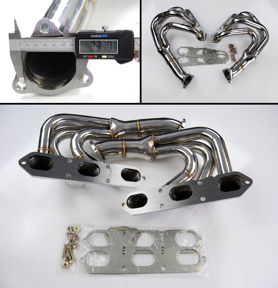 Stainless steel exhaust manifold for porsche