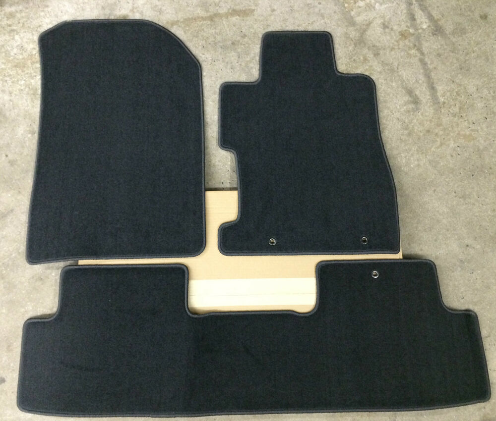 Genuine Oem Honda Civic 2dr Coupe Black Carpeted Floor