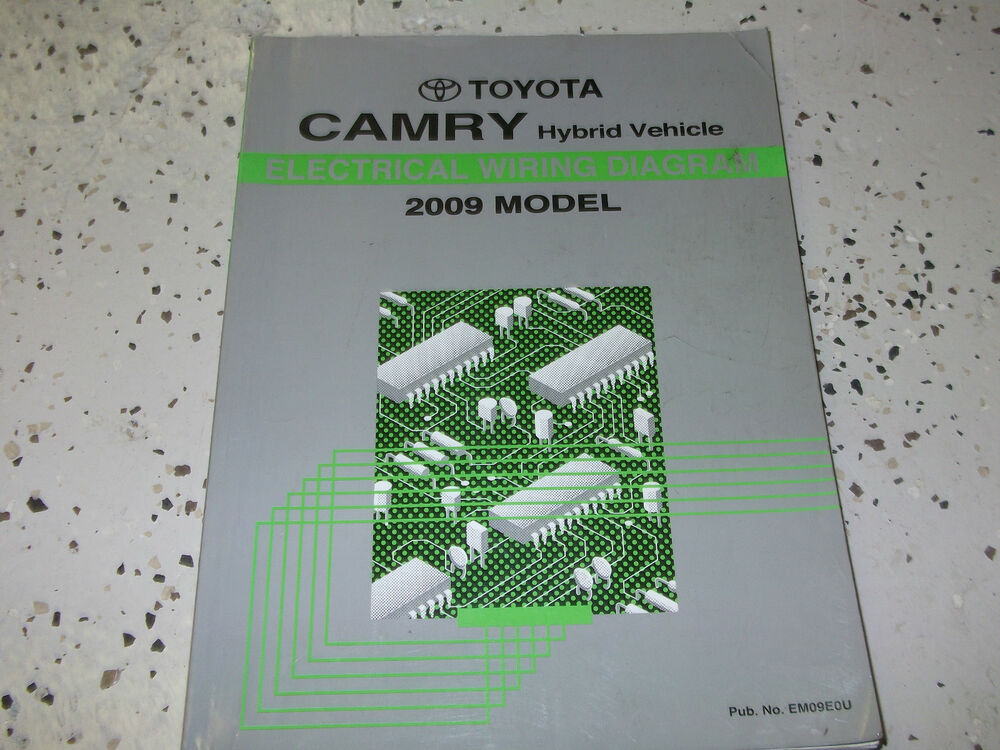 2009 Toyota Camry Hybrid Electrical Wiring Diagram