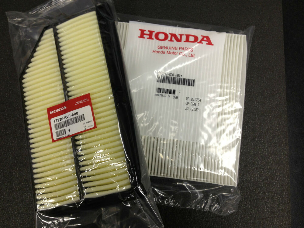 honda ridgeline fram air filter