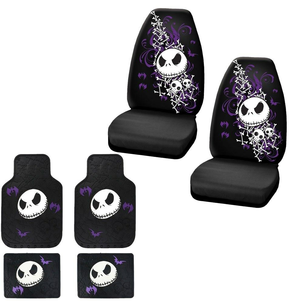 New 6pc Set Nightmare Before Christmas Car Turck Front
