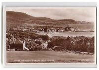 Ayrshire postcard - Largs from Routenburn Golf Course