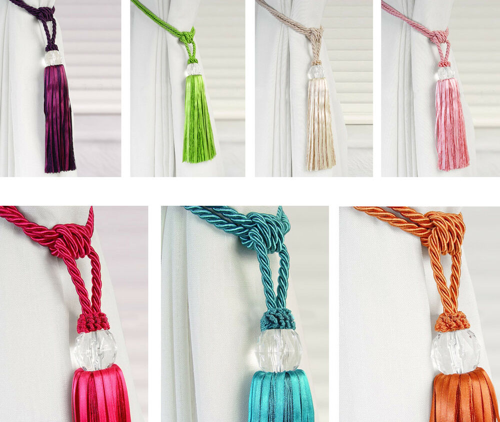 Designer Curtain Tie Backs Uk