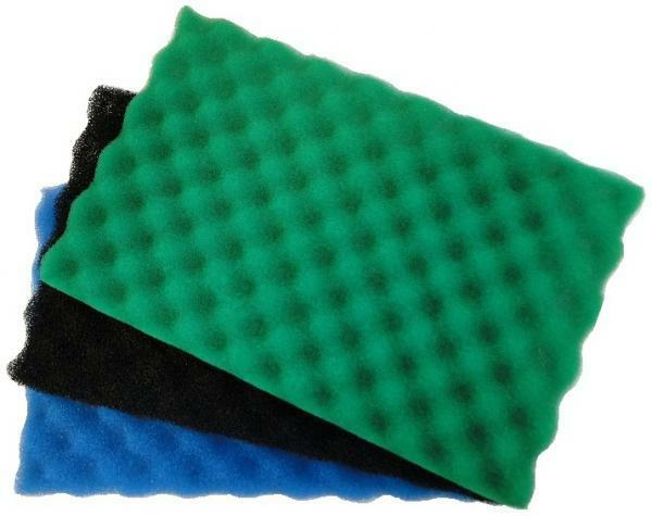 garden fish pond spare replacement filter foam sponge set
