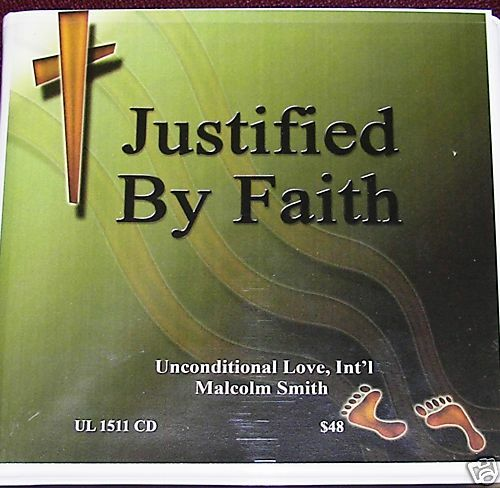 """Malcolm Smith """" Justified by Faith"""" (Romans) 6hrs cd's   eBay"""