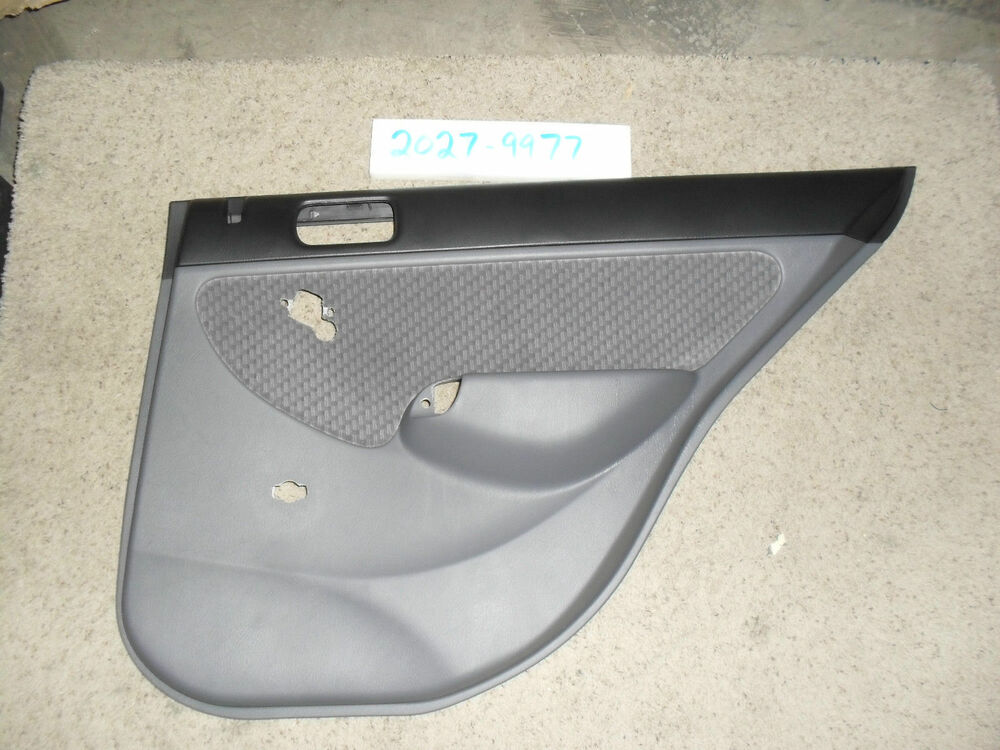 Oem interior door trim panel honda civic 4 door sedan 01 for 03 honda civic 4 door