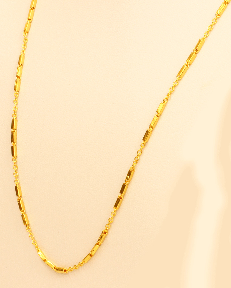 Thai Gold Necklace: 22k Gold Necklace Chain From Thai Thailand ( 22' )