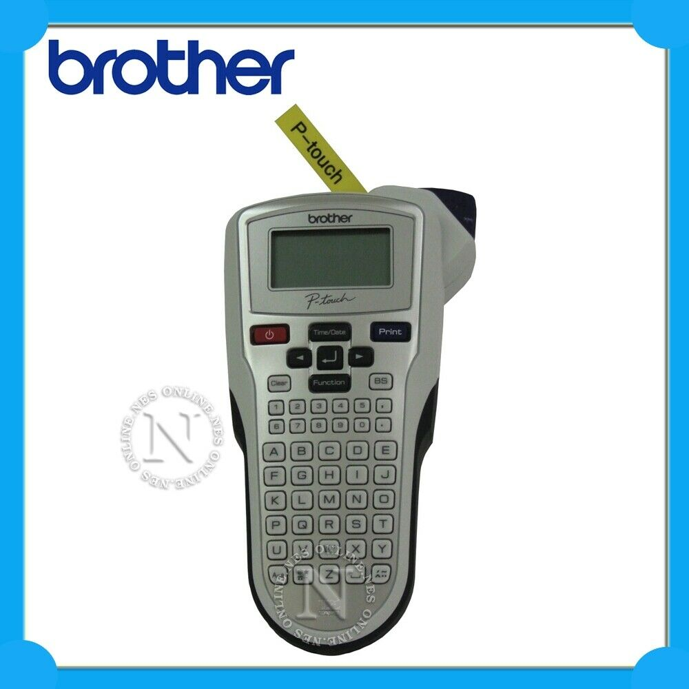 brother pt 1010 p touch label printer thermal labeller w. Black Bedroom Furniture Sets. Home Design Ideas