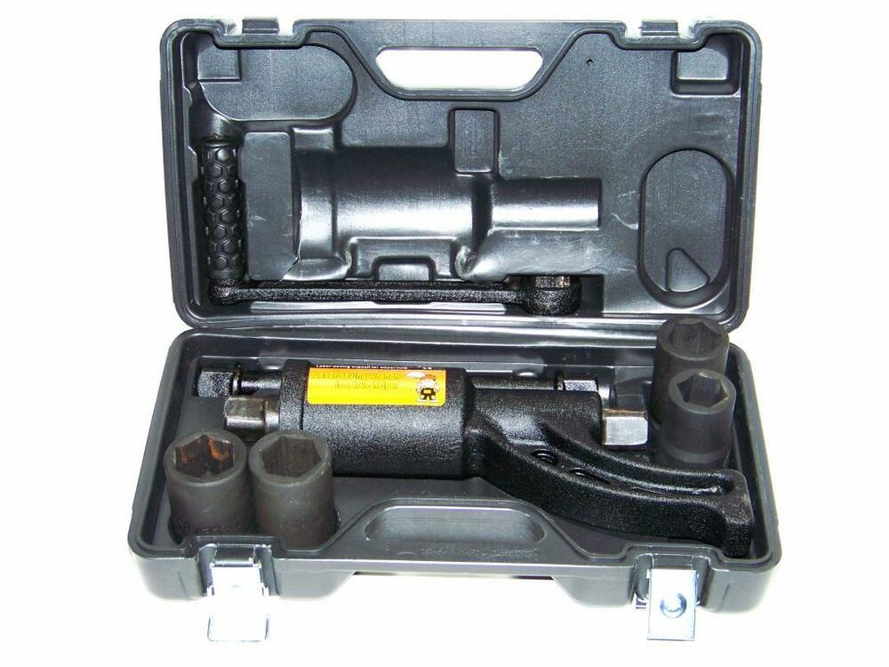 new torque multiplier lug wrench replaces 1 air impact wrench with 4 socket ebay. Black Bedroom Furniture Sets. Home Design Ideas