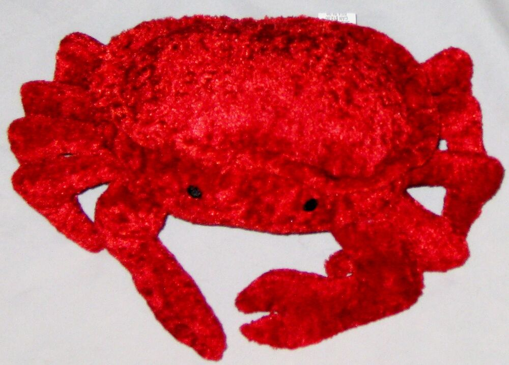 Plush Red 10 Quot Pier 1 Crab Lobster Fish Stuffed Animal Ebay