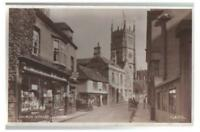 Wiltshire postcard - Church Street, Calne