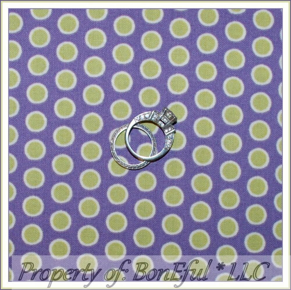 Boneful fabric fq cotton quilt benartex purple green cream for Purple baby fabric
