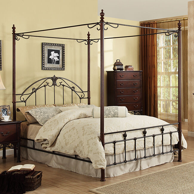 New Home Bedroom Room Decor Furniture King Size Cast Iron