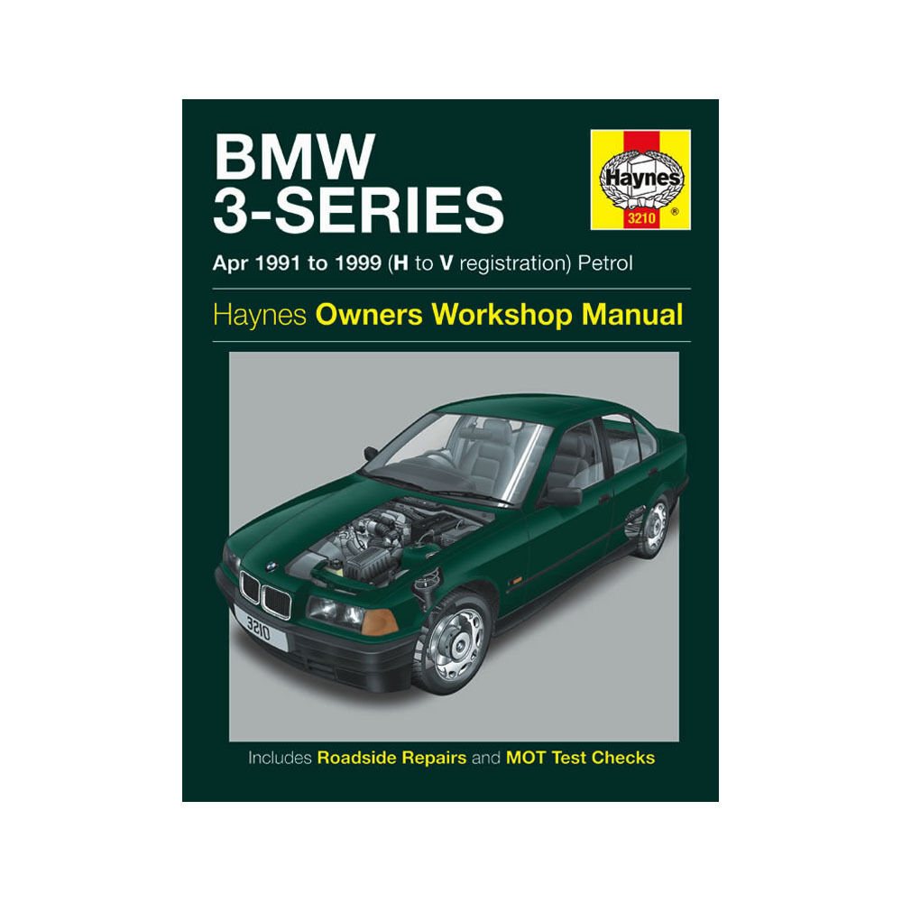 BMW 3 Series Haynes Manual 1991-99 1.6 1.8 1.9 2.0 2.5 2.8 Petrol Workshop  | eBay