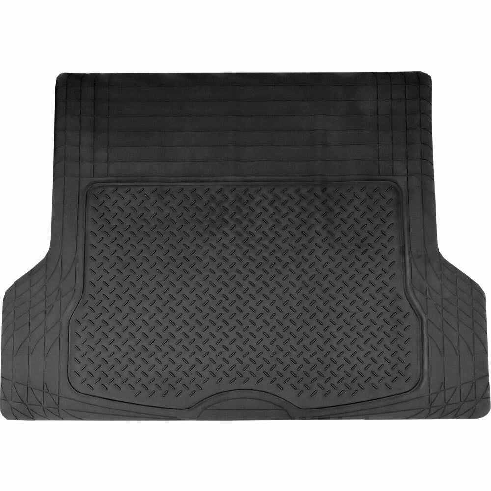 Black All Weather Rubber Cargo Trunk Mat For Mercedes C