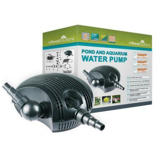 Submersible garden water pond pump for filters for Garden fountain filters
