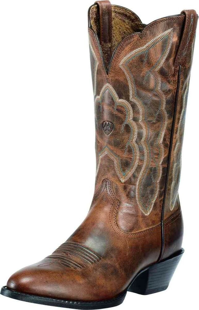 ariat s heritage western r toe cowboy western boots