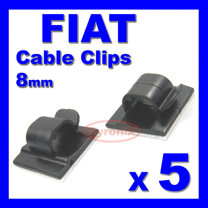 Fiat self adhesive cable clips wiring wire loom harness