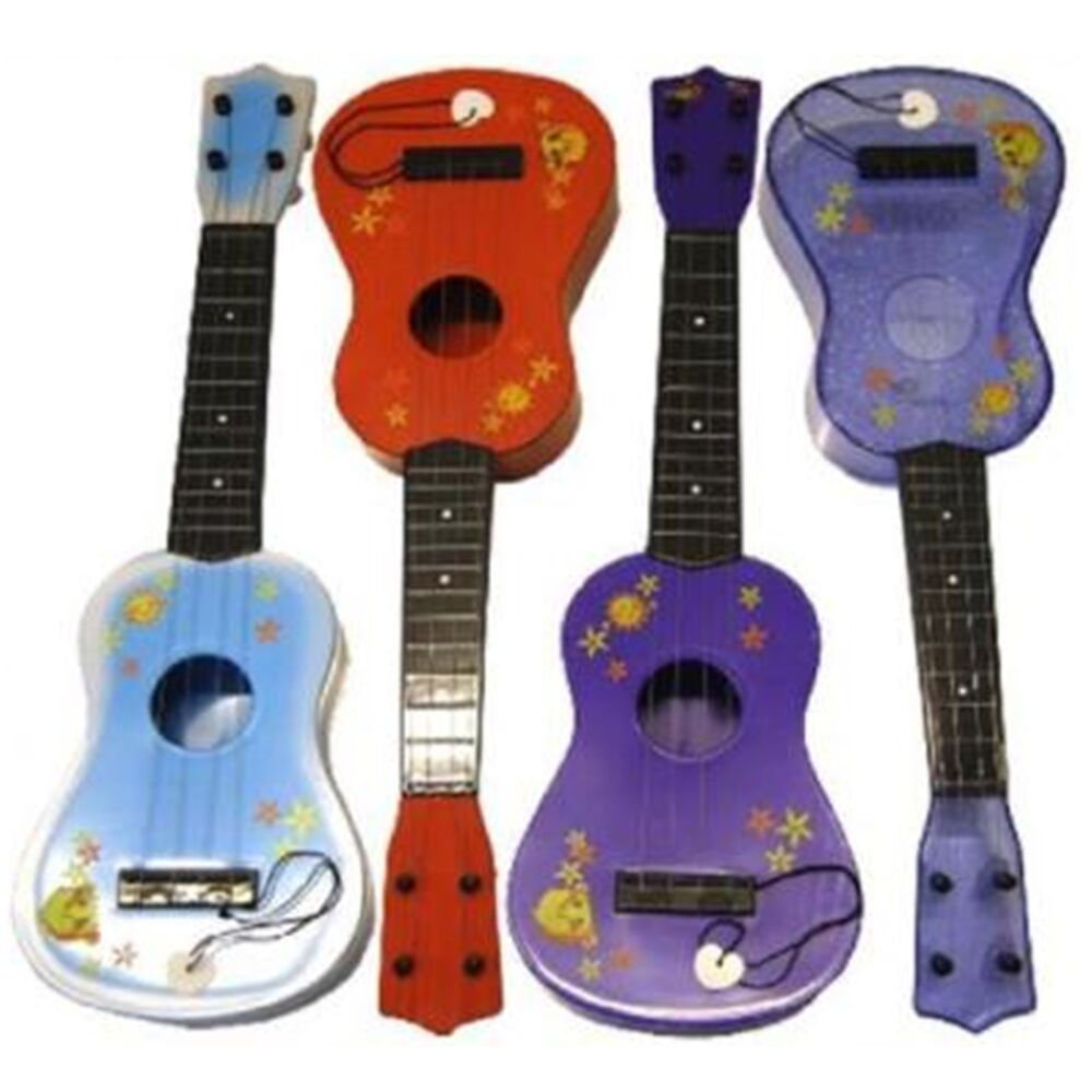 Plastic Toy Musical Instruments : Kids childrens plastic toy music guitar musical instrument
