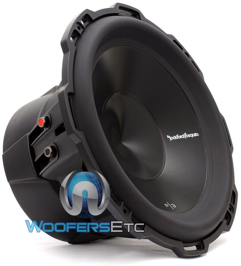 rockford fosgate punch p3d4 12 sub 12 dual 4 ohm 1200w. Black Bedroom Furniture Sets. Home Design Ideas
