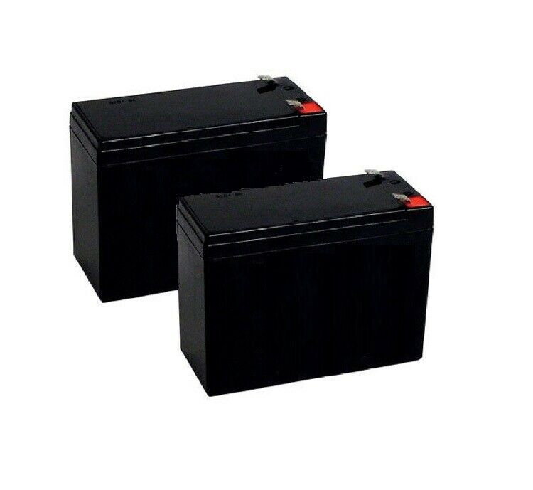 set of 2 new 12v 10ah electric scooter battery schwinn. Black Bedroom Furniture Sets. Home Design Ideas