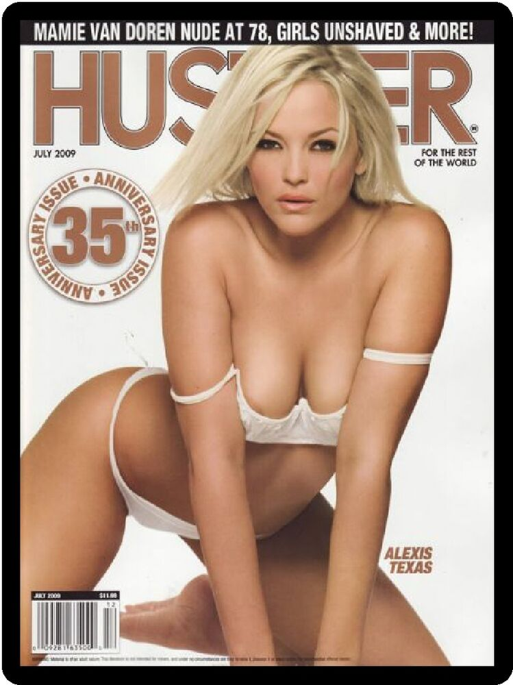 nude picture see in hustler magazine