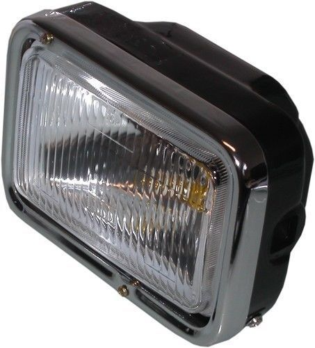 Motorcycle Headlight Assembly : Rectangle motorcycle headlight headlamp v replacement