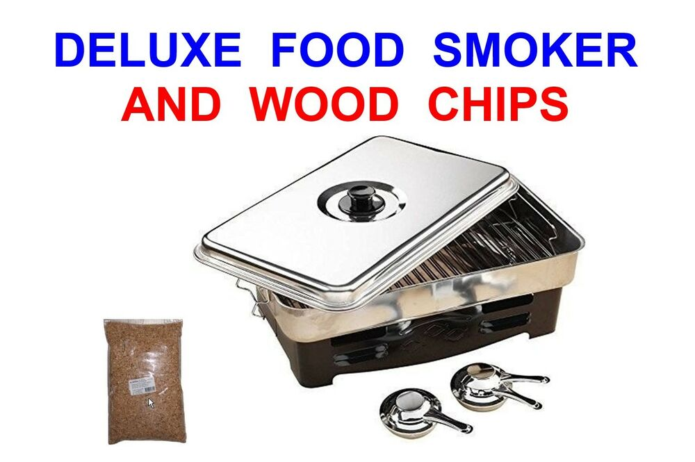 Best Wood Chips Smoking Salmon : Food smoker wood chips fish meat poultry trout salmon bbq camping