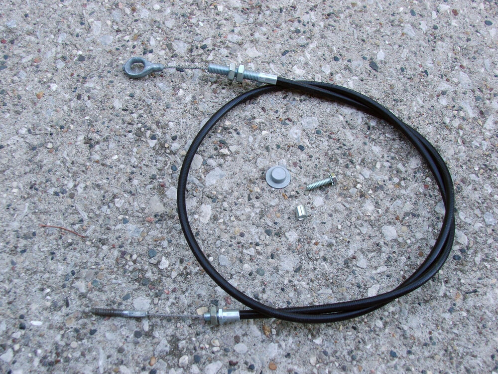 Clutch Cable Repair Kit : Bolens mower clutch cable kit  ebay