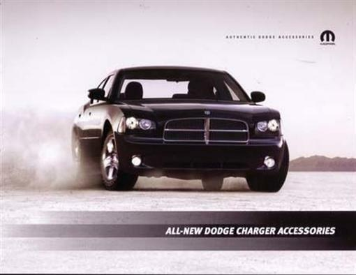 2006 dodge charger accessories sales brochure dealer advertisement. Cars Review. Best American Auto & Cars Review