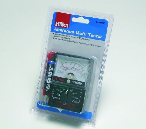 Electrical Meters Circuit Testers : Analogue multimeter multi read electrical circuit tester