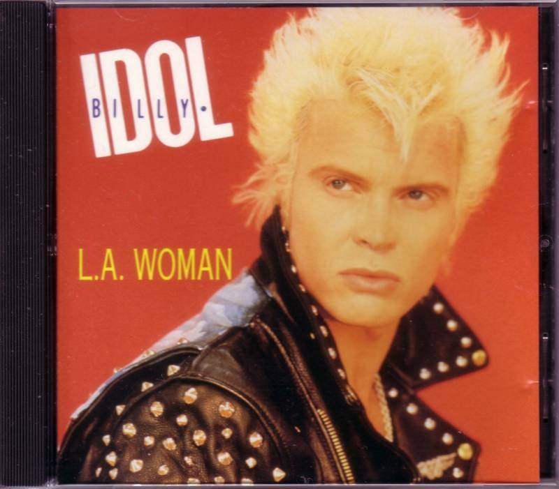 billy idol la woman single Billy idol a: la woman (edit) b:  billy idol a: speed (single version) b:  an interview with billy idol of generation x.