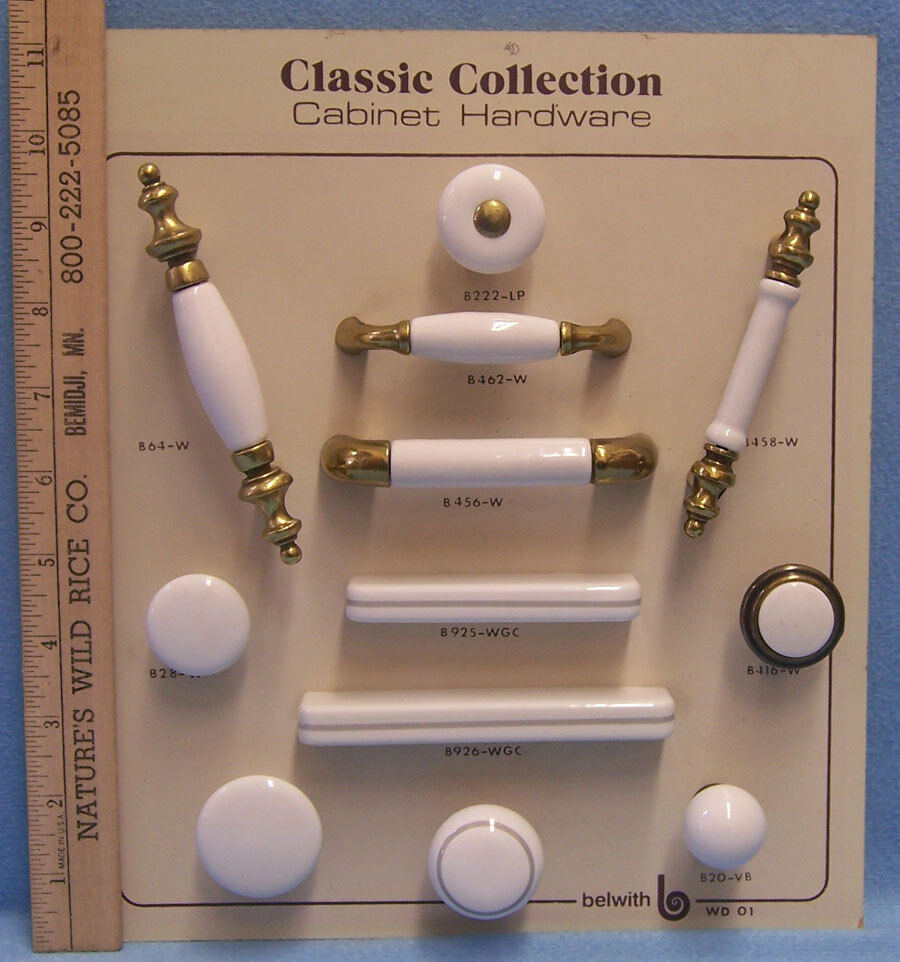 Belwith Cabinet Hardware Knobs Amp Pulls White Porcelain