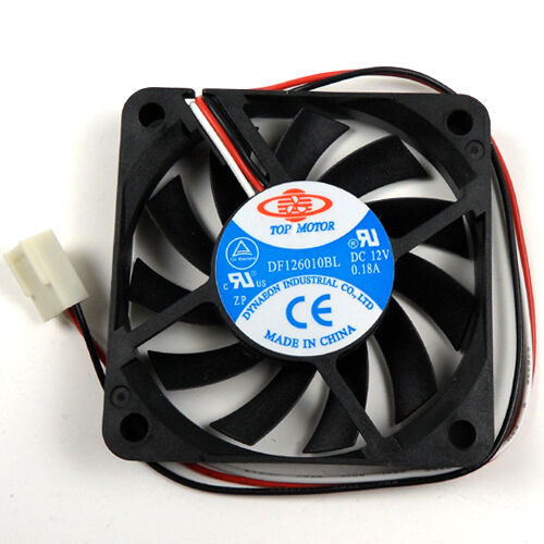 Ball Bearing Fan : Top motor mm v pin wire connector ball