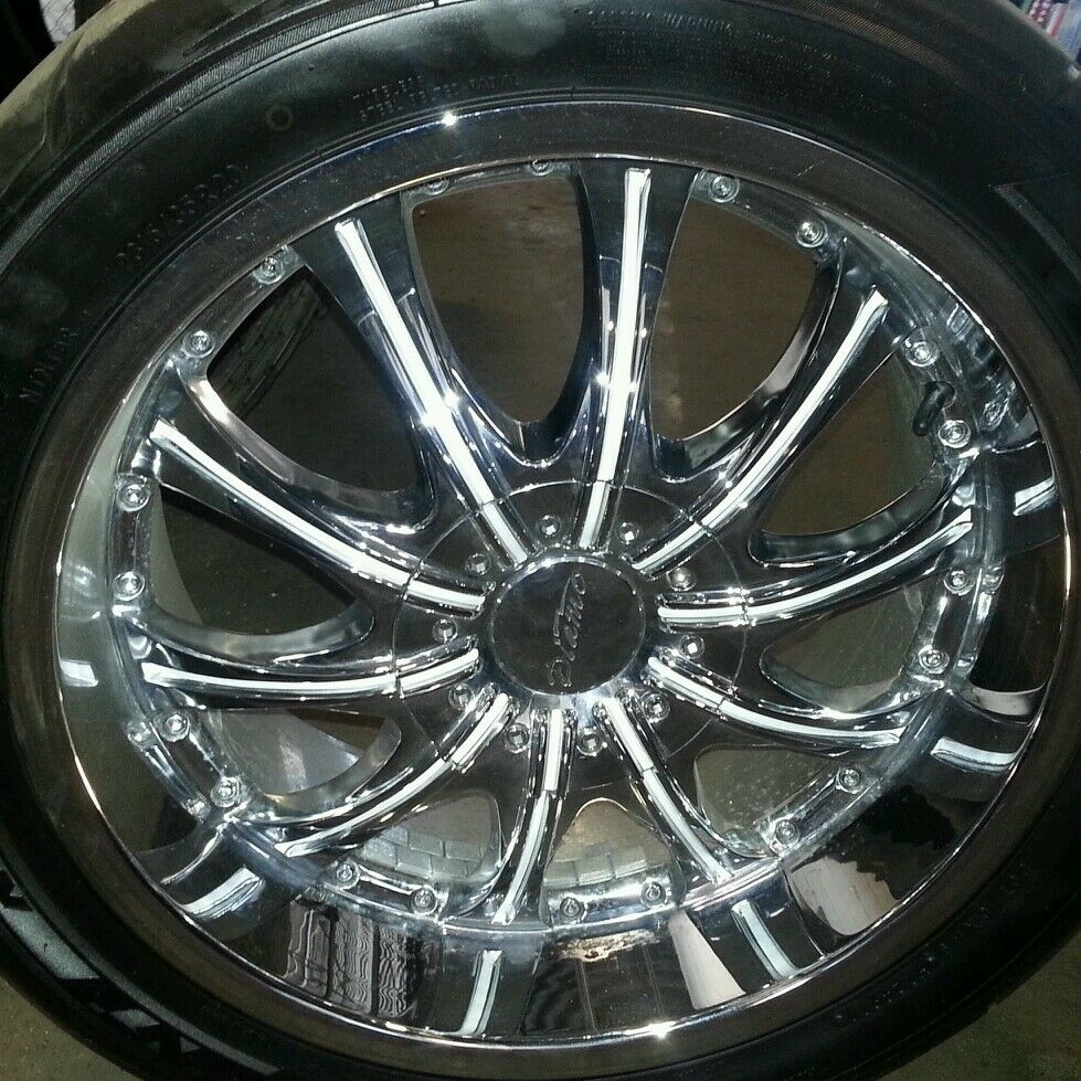 Front and rear nitto tires w 20 diamo rims ebay for Ebay motors wheels and tires