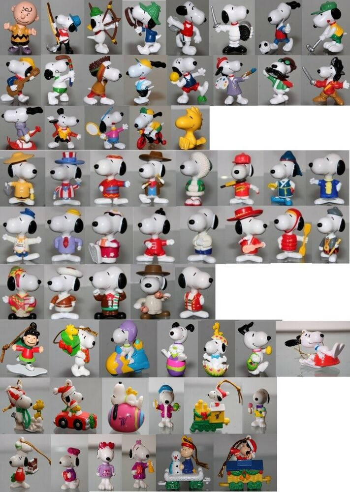 Snoopy Peanuts Schleich Whitman`s MC Donald´s PVC Kunststoff Figur ...